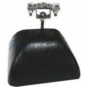 Держатель-зажим соединительный круглого проводника 8-10 мм, оцинкованная сталь с бетоном, вес 3.5 кг