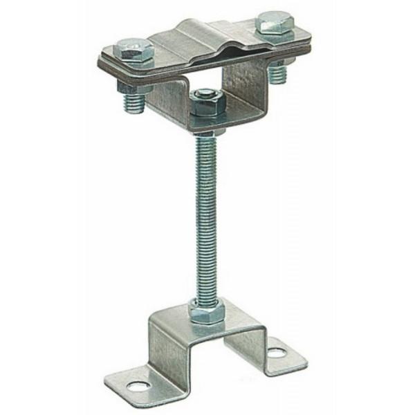 Держатель полоса/пруток опорный, оцинкованная сталь