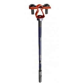 Держатель проводника круглого 8-10 мм для фасада, медь