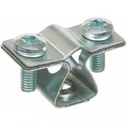 Держатель проводника круглого 8-10 мм, оцинкованная сталь
