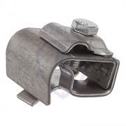 Держатель проводника круглого 8-10 мм для желоба водостока, сталь