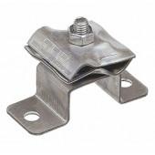 Держатель-зажим соединительный круглого проводника 8-10 мм, оцинковнная сталь
