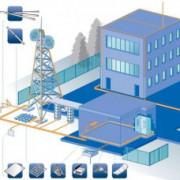 Монтаж заземления промышленных строений