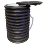 Колодец электролитического заземления контрольно-измерительный, пластик