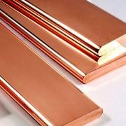 Полоса стальная омедненная ( 40х4 мм - длинна 6 метров)