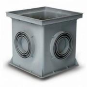 Колодец заземления контрольно-измерительный 200х200х200 мм, пластик