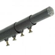 Мачта телескопическая на растяжках СМТП - 5,75 метров, 3 секции, 1 ярус