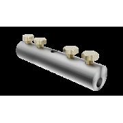 Сквозной дырочный соединитель для прутка для молниезащиты и заземления - нержавеющая сталь, диаметр 5-10 мм