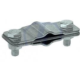 Зажим соединительный полоса пруток — полоса пруток параллельный, оцинкованная сталь