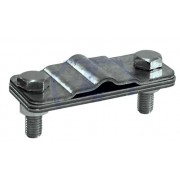 Зажим соединительный полоса пруток — полоса параллельный, оцинкованная сталь