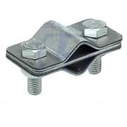 Зажим соединительный пруток - пруток параллельный, оцинкованная сталь
