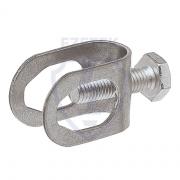 Зажим соединительный пруток - стержень, оцинкованная сталь